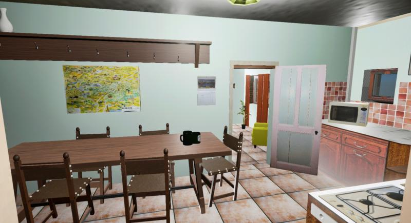 Gite Kitchen