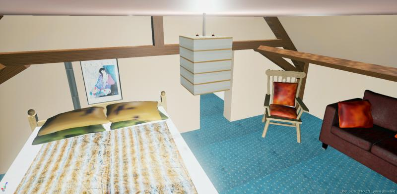 Gite Bedroom