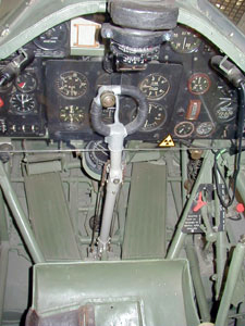 Hurricane Cockpit